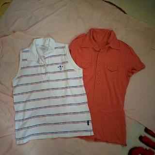 コンバース(CONVERSE)のコンバースタンクトップポロシャツ(カットソー(半袖/袖なし))