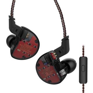 KZ ZS10 4BA+1DD 高音質 5ドライバ ハイブリッド イヤホン(ヘッドフォン/イヤフォン)