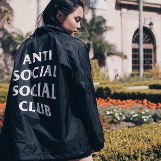 アンチ(ANTI)のanti social social club コーチジャケット L(ナイロンジャケット)