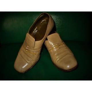 ピエールカルダン(pierre cardin)のピエールカルダン紳士靴 24.5 ベージュ(ドレス/ビジネス)
