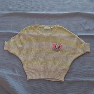 ディズニー(Disney)のディズニー 半袖セーター90cm(Tシャツ/カットソー)