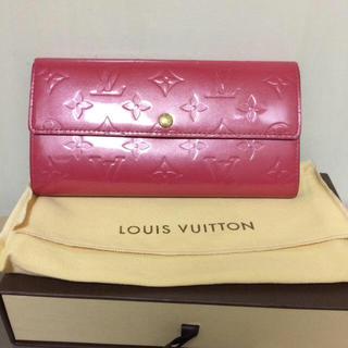 ルイヴィトン(LOUIS VUITTON)のルイヴィトン ヴェルニ 長財布 確認用(財布)