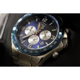 ケンテックス(KENTEX)のkentex ブルーインパルス チタン クロノグラフ 50周年 腕時計(腕時計(アナログ))