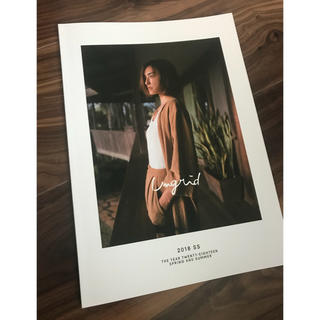 アングリッド(Ungrid)のungrid 2018ss photo book(ファッション)