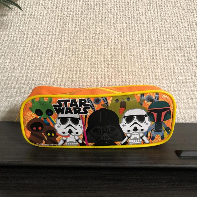 STARWARS 未使用ペンケース2個、パスケース1個セット エンタメ/ホビーのおもちゃ/ぬいぐるみ(キャラクターグッズ)の商品写真