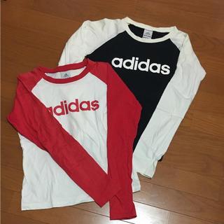 アディダス(adidas)のadidas  長袖Tシャツ2枚セット(Tシャツ(長袖/七分))
