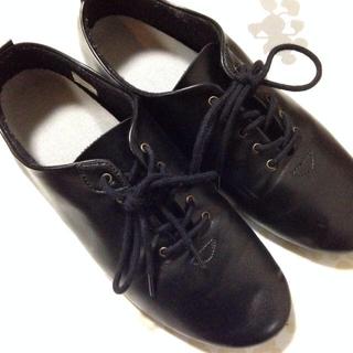 ムジルシリョウヒン(MUJI (無印良品))のレースアップシューズ(ローファー/革靴)