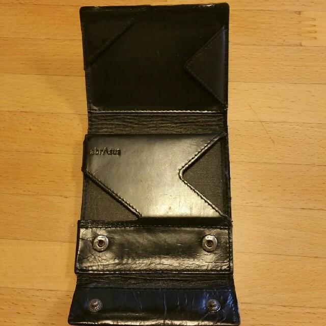 d564089873b9 hm様専用 abrasus アブラサス 薄い財布 クラシック ブラック メンズのファッション小物(折り財布