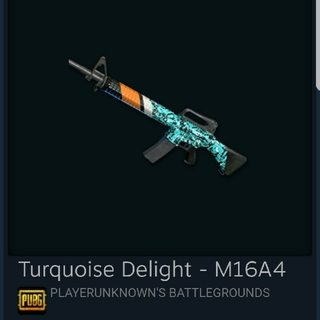 pubg turquoise delight m16a4(PCパーツ)