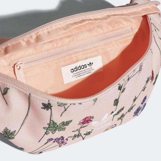 adidas(アディダス)の【新品/即発送OK】adidas オリジナルス ウエストバッグ ピンク 花柄 レディースのバッグ(ボディバッグ/ウエストポーチ)の商品写真