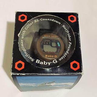 ベビージー(Baby-G)の超カシオ ベビーG サーフライダーファンデーション(腕時計(デジタル))