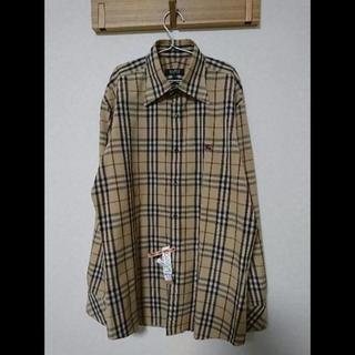 バーバリー(BURBERRY)の日本製 BURBERRY ブラックレーベル 長袖 チェックシャツ 3(シャツ)