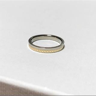 ブルーム(BLOOM)のブルーム 美品 K10チタンリング(リング(指輪))