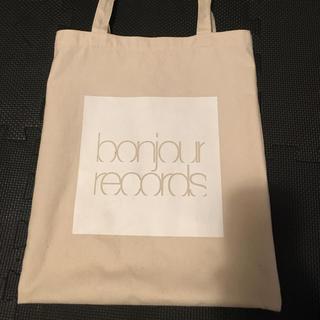 ボンジュールレコーズ(bonjour records)のトートバッグ(トートバッグ)