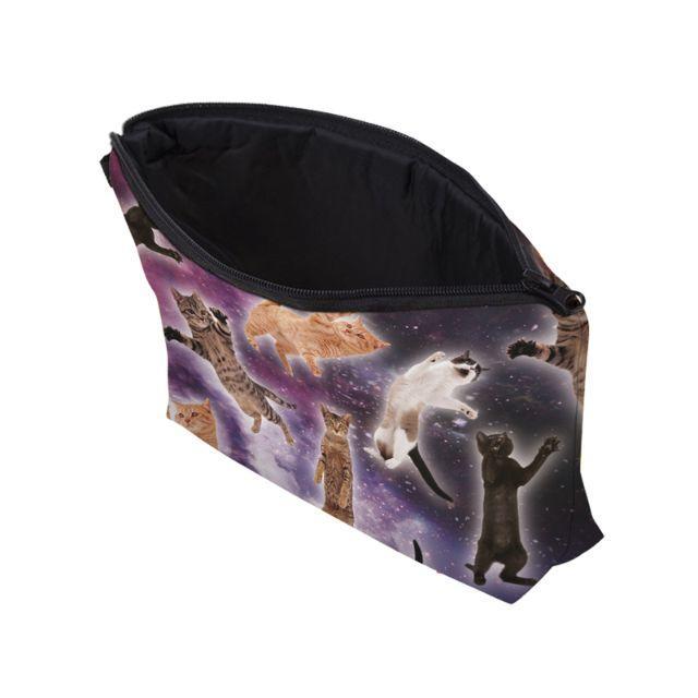 猫ポーチ 猫コスメポーチ 猫小物入れ 新品未使用品 送料無料♪ その他のペット用品(猫)の商品写真