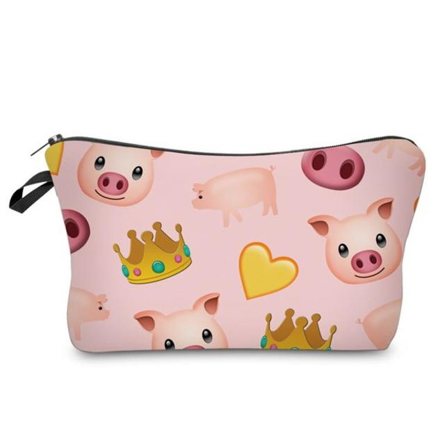 ブタポーチ☆豚コスメポーチ☆豚小物入れ 新品未使用品 送料無料♪ レディースのファッション小物(ポーチ)の商品写真