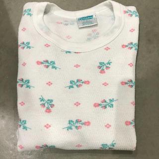 エディットフォールル(EDIT.FOR LULU)のvintage   花柄 サーマル(Tシャツ(長袖/七分))