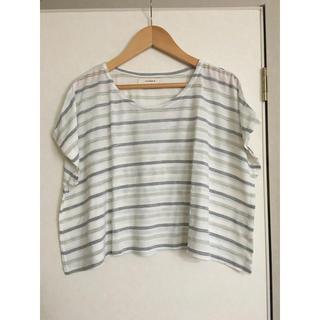 シンシア(cynthia)のシンシア ボーダー Tシャツ(Tシャツ(半袖/袖なし))