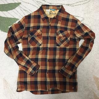 エンジョイ(enjoi)のenjoi (エンジョイ) ネルシャツ 赤黒(シャツ)