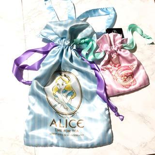 ディズニー(Disney)のディズニー ☆ アリス ☆ チシャ猫 巾着袋 袋 小物入れ