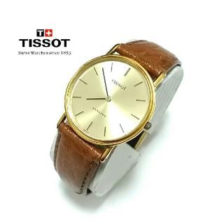 ティソ(TISSOT)の稼働OK「TISSOT」腕時計 革ベルト (腕時計)