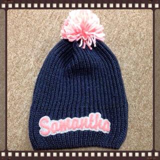 サマンサタバサ(Samantha Thavasa)のサマンサゴルフ ニット帽(ニット帽/ビーニー)