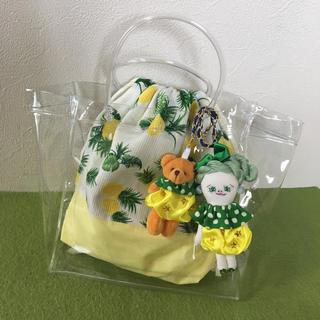 柚茶様専用 ドールチャーム クリアバッグセット(チャーム)