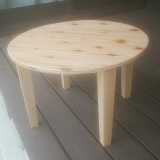 ゴールデンウィーク中値引き丸型飾り台(家具)