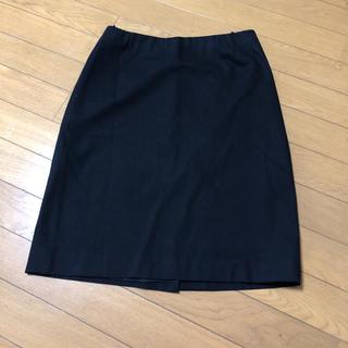 プラダ(PRADA)のプラダタイトスカート ブラック(ひざ丈スカート)