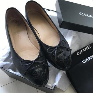 シャネル(CHANEL)の専用! 6/1まで取り置き中CHANEL バレエシューズ フラットシューズ 靴 (バレエシューズ)