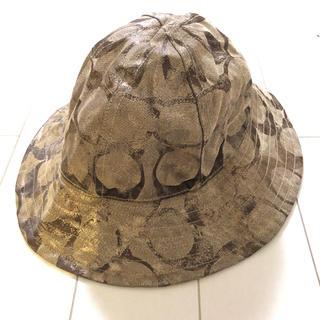 コーチ(COACH)のコーチの帽子(ハット)
