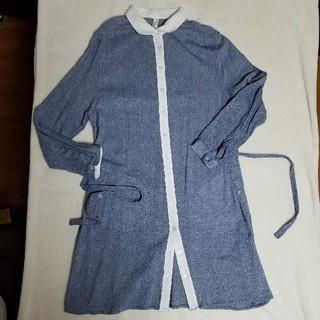 キートス(KiiTOS)のリネン系綿ワンピース(ひざ丈ワンピース)