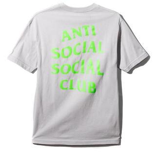 アンチ(ANTI)のAntiSocialSocialClub silver rogo Tシャツ (Tシャツ/カットソー(半袖/袖なし))