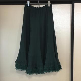 アンティカ(antiqua)の☆オシャレウォーカー フレアスカート☆(ロングスカート)