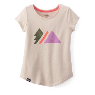 パタゴニア(patagonia)のREI Co-op Tシャツ アウトドアkids girl XXS(4-5)(Tシャツ/カットソー)