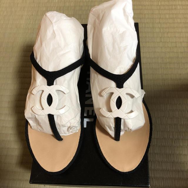 CHANEL(シャネル)のCHANEL サンダル レディースの靴/シューズ(サンダル)の商品写真
