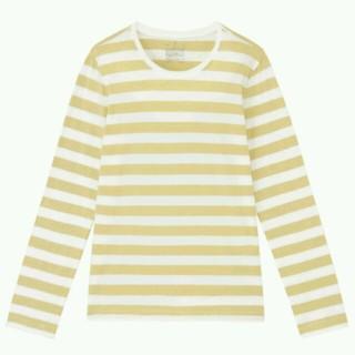 ムジルシリョウヒン(MUJI (無印良品))の美品無印良品オーガニックコットンクルーネック長袖Tシャツカットソー(Tシャツ(長袖/七分))