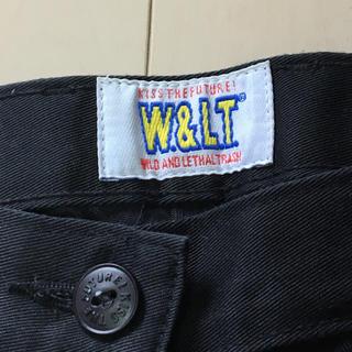 ウォルターヴァンベイレンドンク(Walter Van Beirendonck)のW&LT ウォルト ブラック パンツ 美品  確認用(カジュアルパンツ)