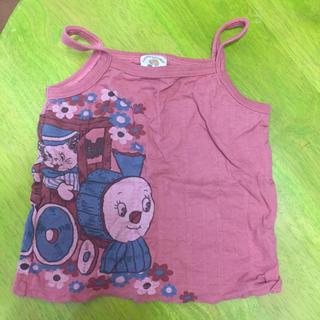 ラフアンドチープ(LAUGH & CHEAP)のキッズ  ベビー  女の子キャミソール 100  LAUGM AND CHEAP(Tシャツ/カットソー)