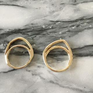 イオッセリアーニ(IOSSELLIANI)のイオッセリアーニ パズルリング ゴールド 2連(リング(指輪))