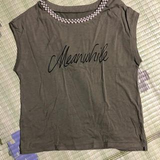 ミスティウーマン(mysty woman)のミスティーウーマン ビジュータンクトップ(Tシャツ(半袖/袖なし))