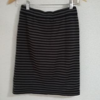 ノーブル(Noble)のNOBLE ボーダータイトスカート(ミニスカート)
