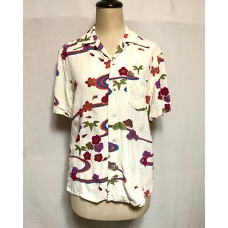 オクラ(OKURA)のOKURA 和柄アロハシャツ(シャツ/ブラウス(半袖/袖なし))