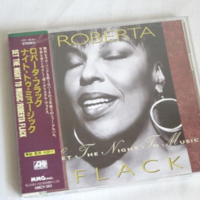 CD ROBERTA FLACK☆ SET THE NIGH...