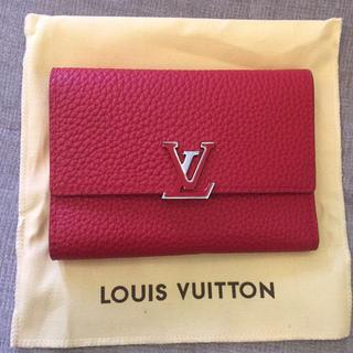 ルイヴィトン(LOUIS VUITTON)のLV ルイヴィトン ポルトフォイユ・カプシーヌ 新品(財布)