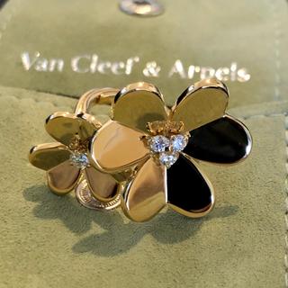 ヴァンクリーフアンドアーペル(Van Cleef & Arpels)のヴァンクリーフ&アーペル フリヴォル アントレ レ ドアリング(リング(指輪))