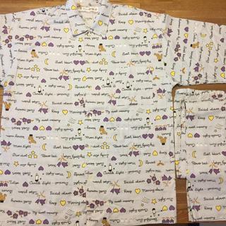 ワコール(Wacoal)のメンズ綿100%長袖パジャマMサイズ プー専用(その他)