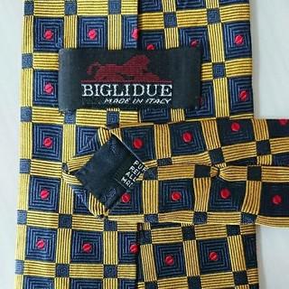 ビリドゥーエ(BIGLIDUE)の格安❗ビリドゥーエ(BIGLIDUE)のネクタイ ☆イタリア製(ネクタイ)