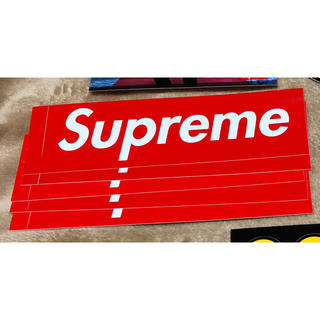 シュプリーム(Supreme)のバラ売り supreme boxlogo ステッカー ボックスロゴ(その他)