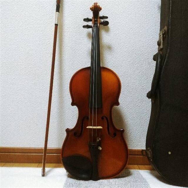 【証明ラベル有】鈴木バイオリン No.240 1/4 スズキ(suzuki) 楽器の弦楽器(ヴァイオリン)の商品写真